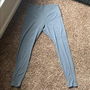 """Lululemon Align Pant 28"""" in Steel Blue"""